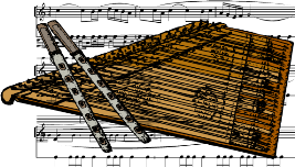Bild zu Schulschlusskonzert der Flöten- und Hackbrettklasse